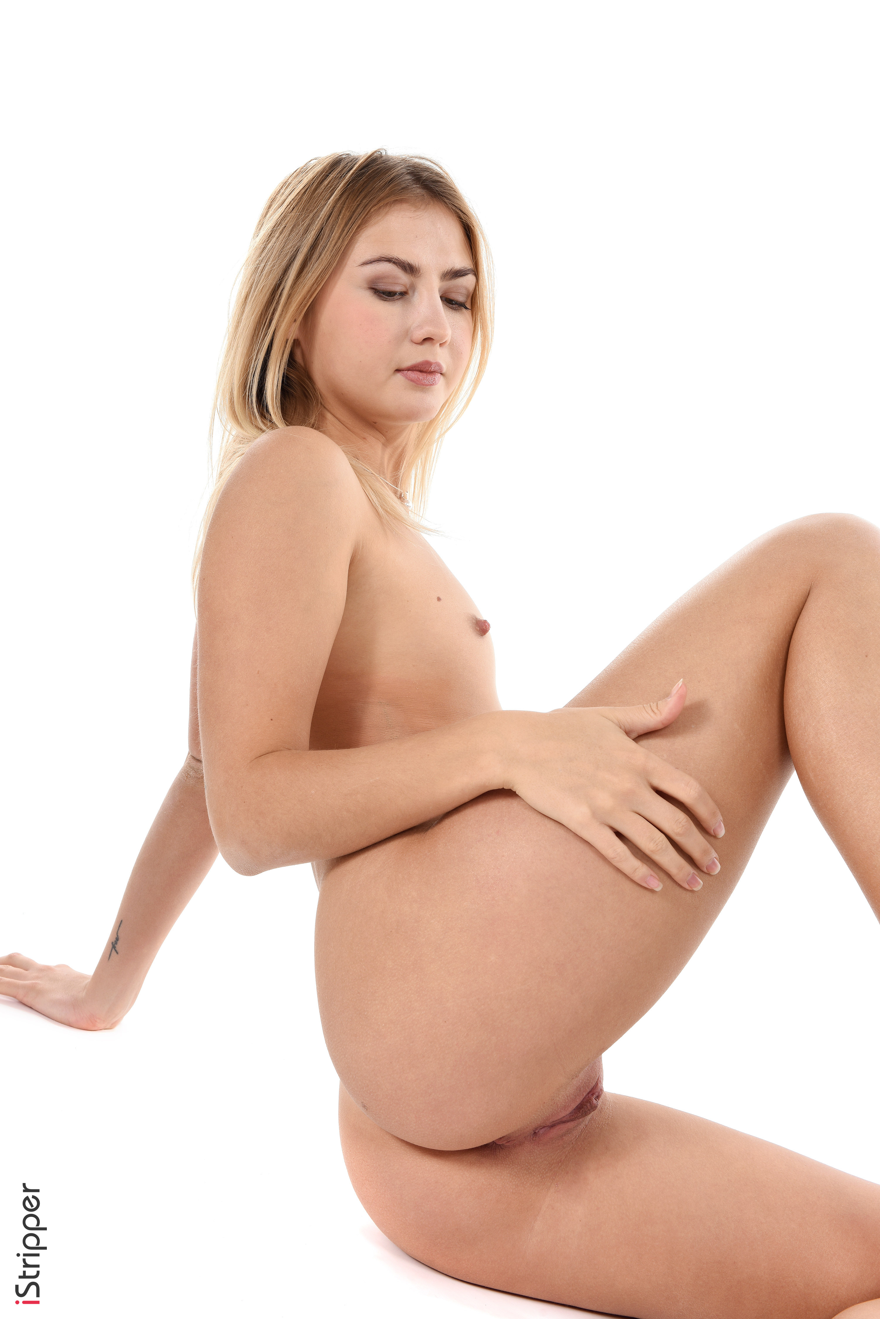 young sexy striptease