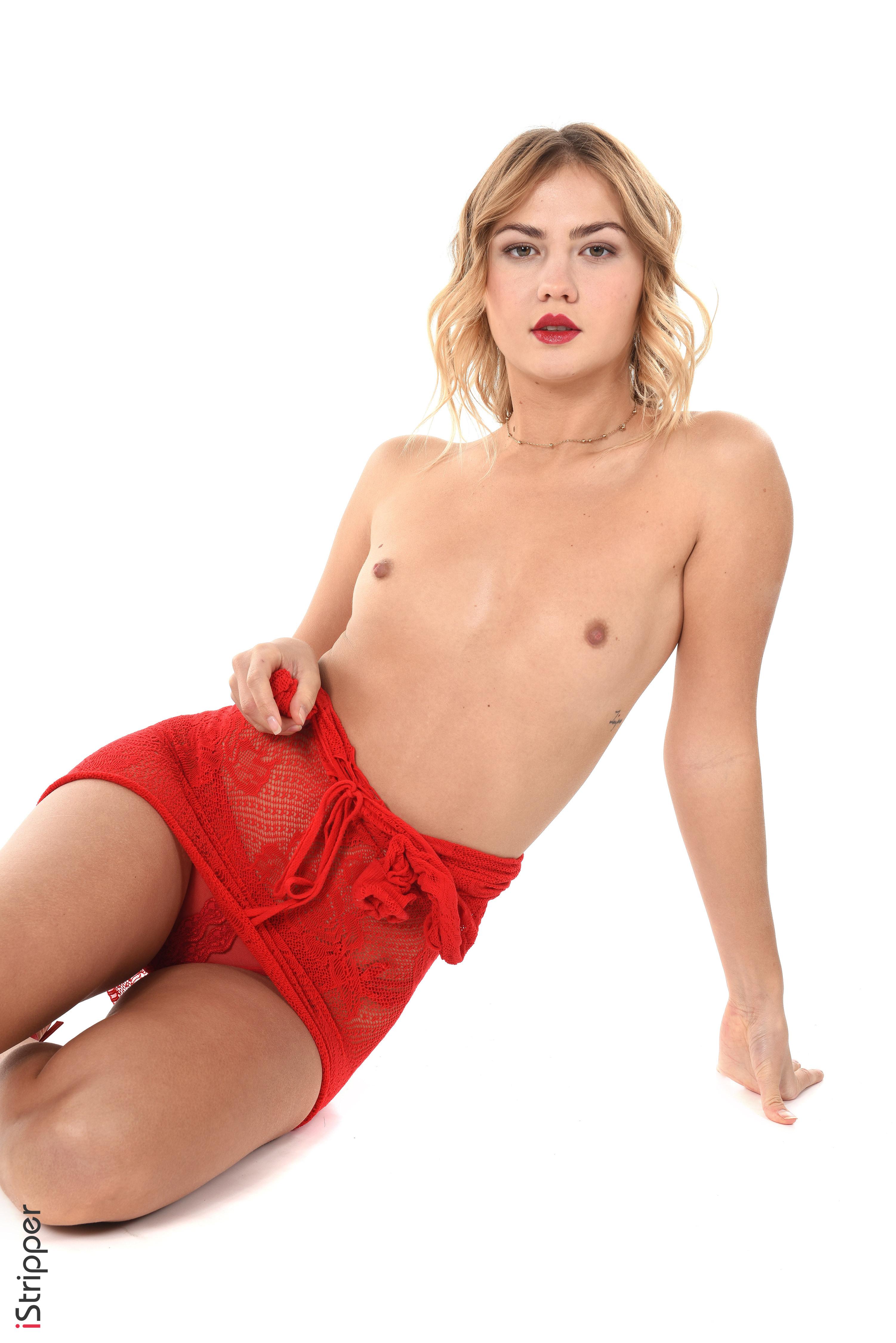sexy striptease in club