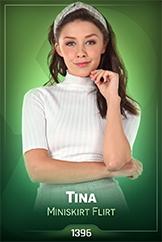 iStripper - Tina - Miniskirt Flirt
