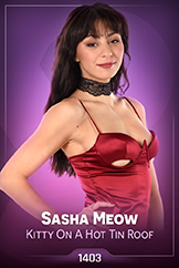 iStripper - Sasha Meow - Kitty On A Hot Tin Roof