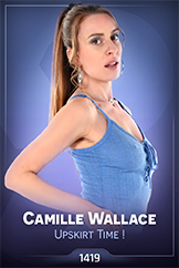 iStripper - Camille Wallace - Upskirt Time !