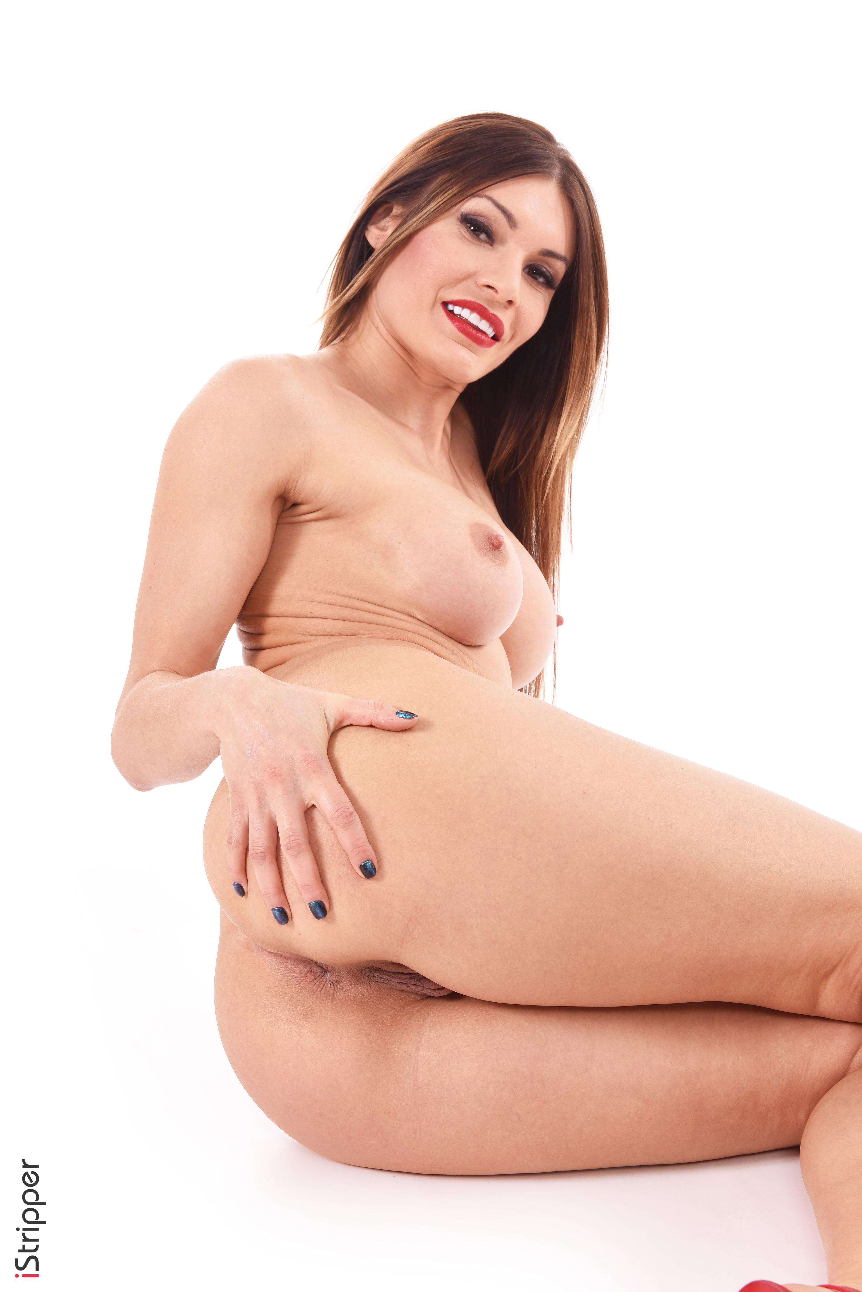 sexy fit girl twerk and striptease