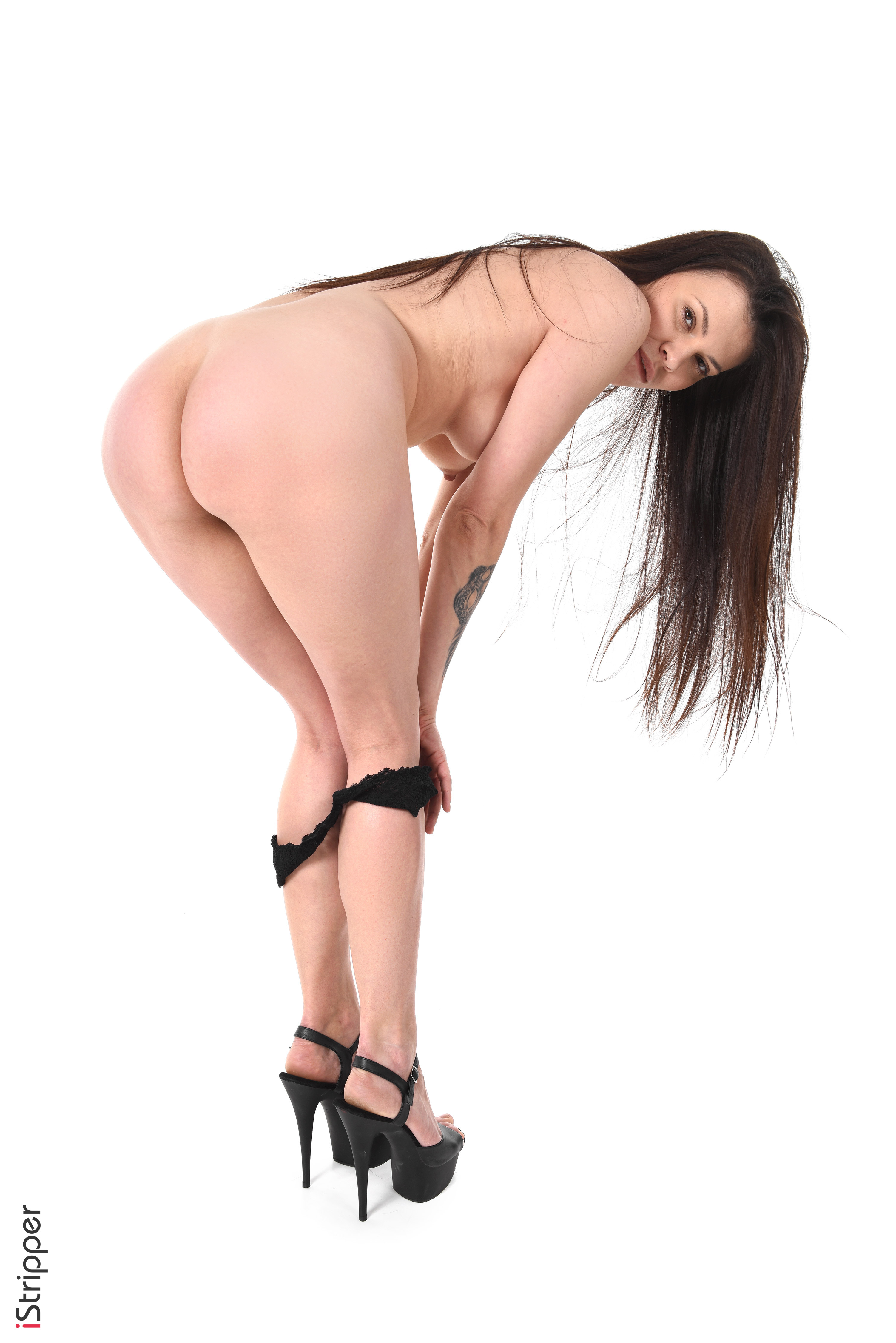 sexy striptease 18yr corset white