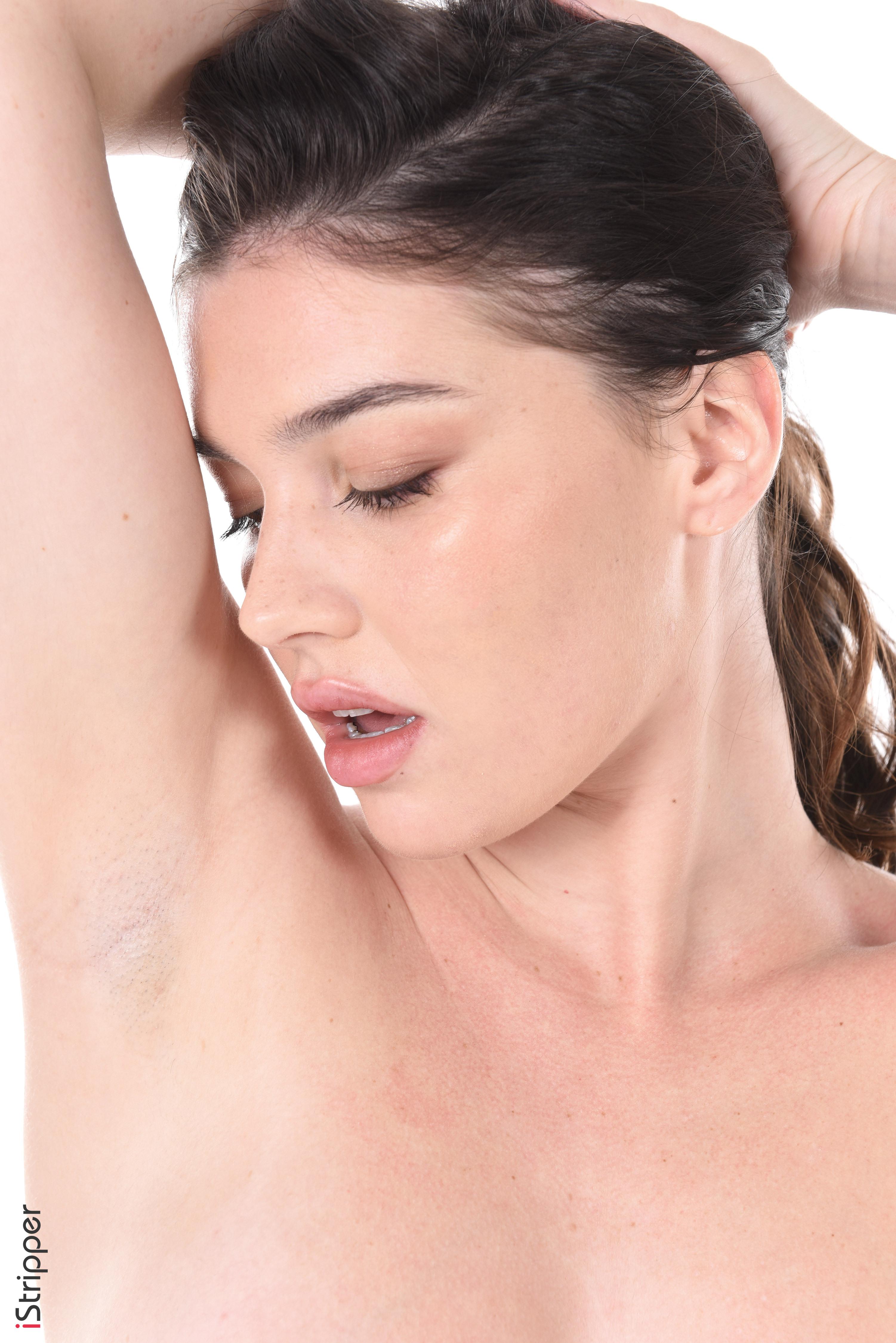 sexy striptease in web cam