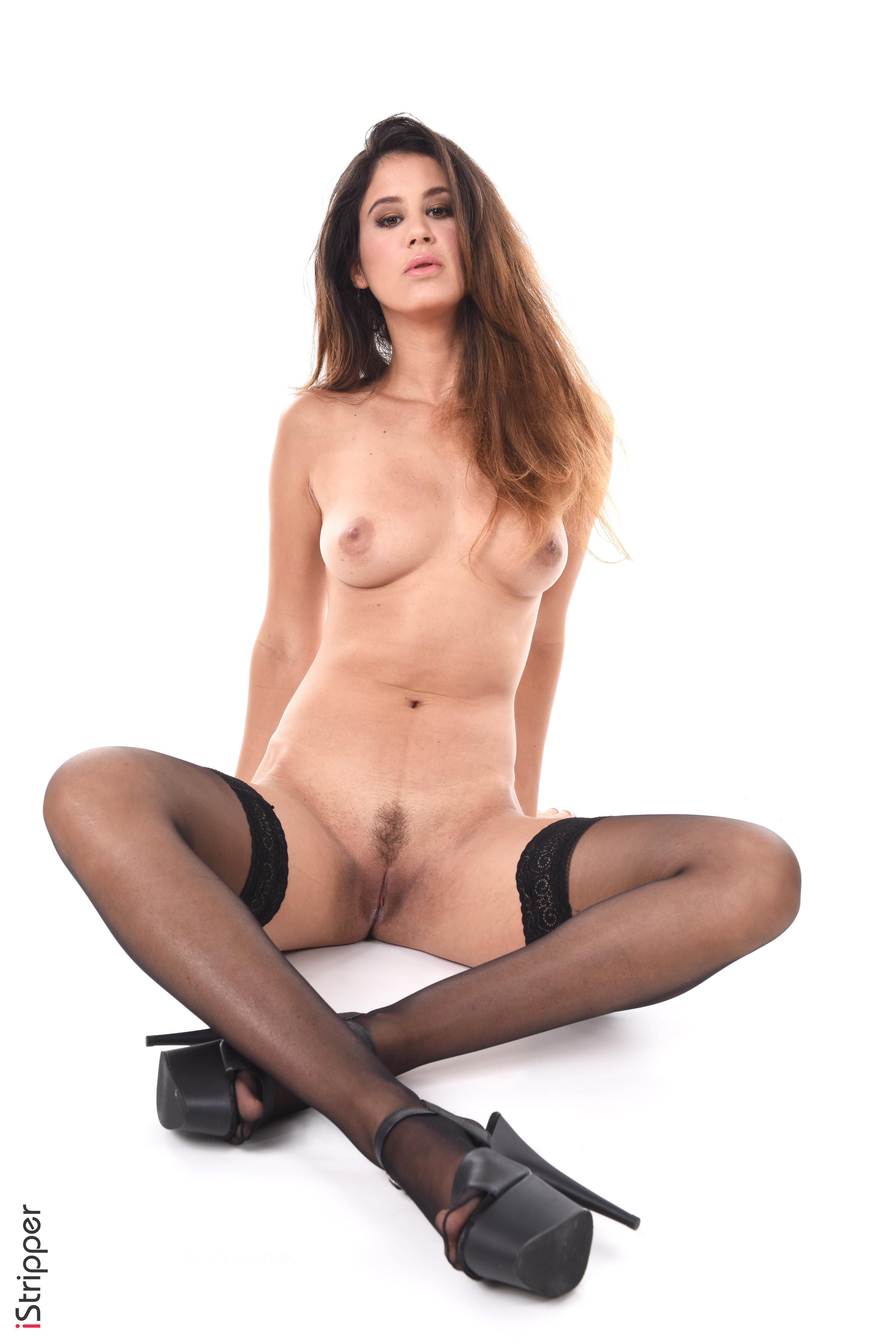 sexy striptease curvy body