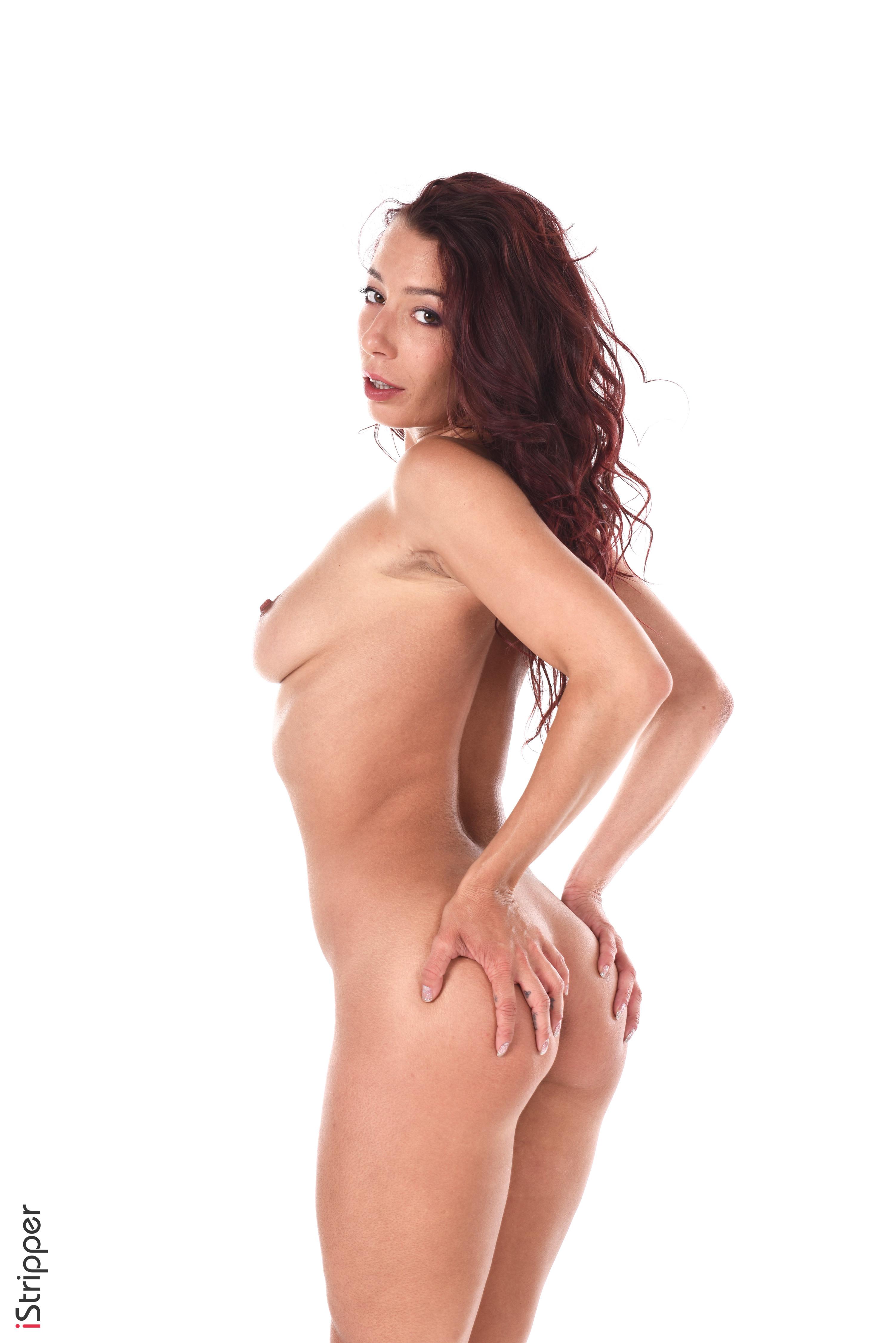 sexy fishnets striptease