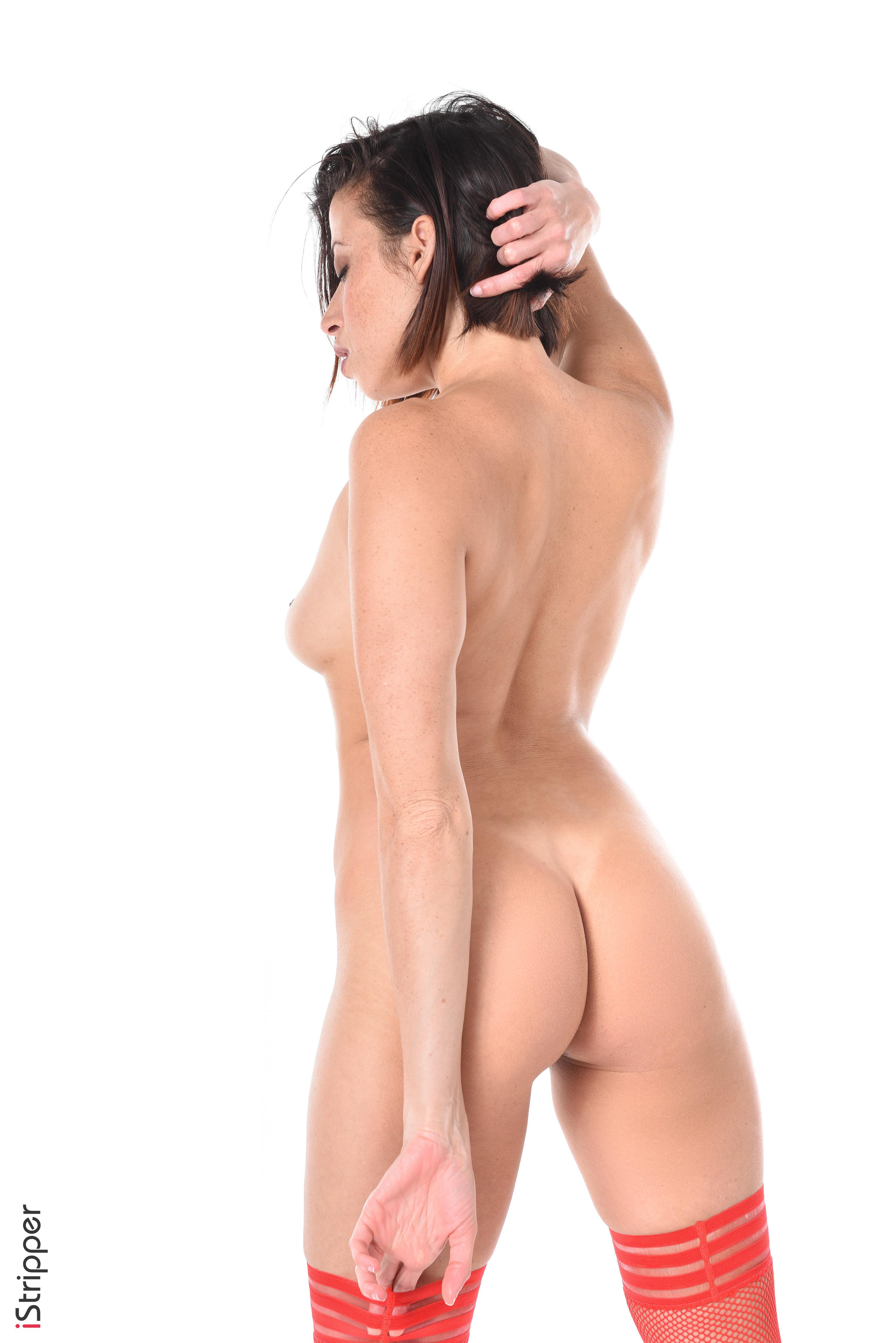 sexy slutty striptease in heels
