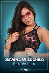 iStripper - Savana Wildchild - Fresh Brunette