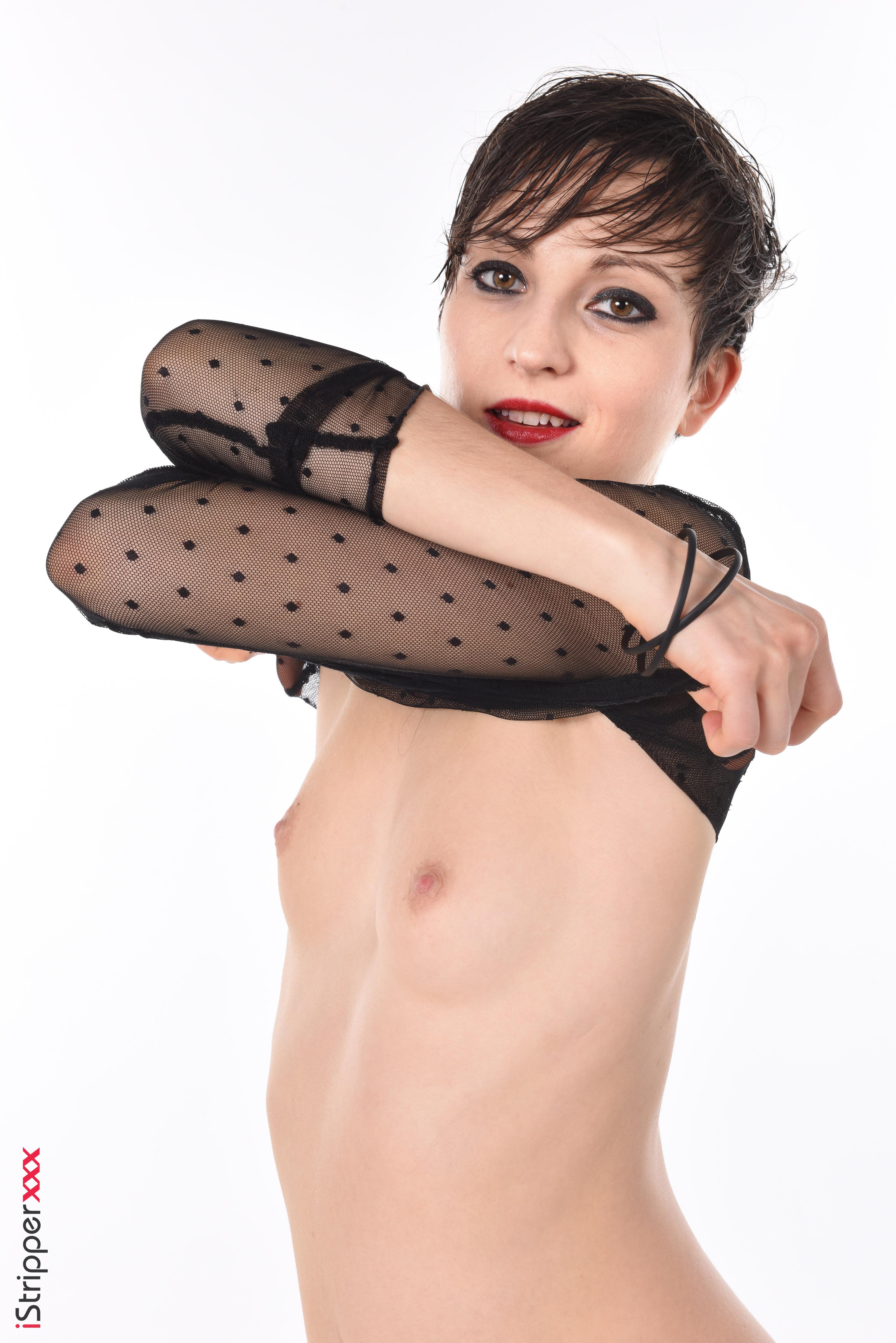 sexy coffee striptease