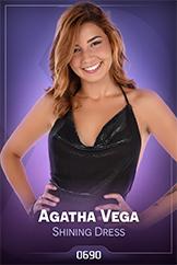 iStripper - Agatha Vega - Shining Dress