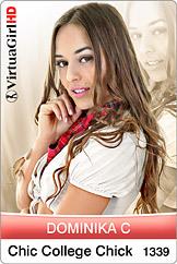 Dominika C / Chic College Chick