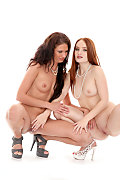 Heaven & Lara Sweet Duo istripper model