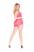 Mia Malkova Pink Gem istripper model