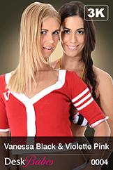 Vanessa Black & Violette Pink / Duo